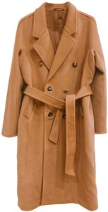 Max Mara Monogram Wool Cashmere Trench Coat