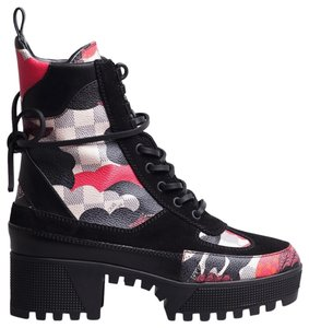 Louis Vuitton Red Boots