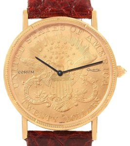 Corum Corum 20 Dollars Double Eagle Yellow Gold Coin Year 1900 Mens Watch
