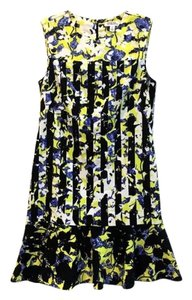 Peter Pilotto for Target short dress Black & Yellow on Tradesy