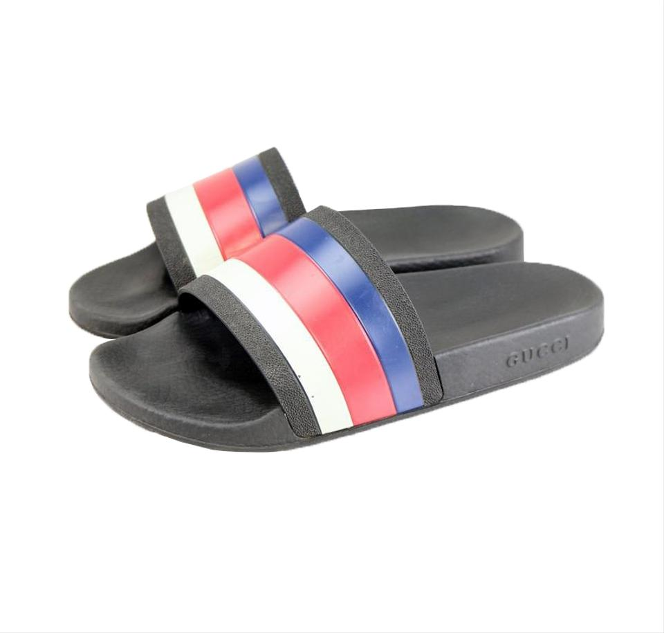 bc517b3428b Gucci Multicolor Rubber Slide Sandal 308234 Shoes Image 0 ...