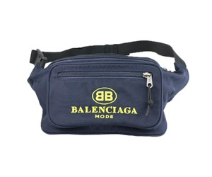 Balenciaga Balenciaga / Yellow Explorer Embroidered Nylon Belt Bag BB Mode