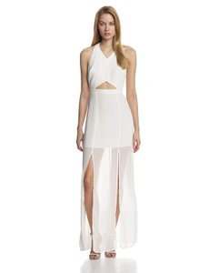 BCBGeneration Bcbg Sheer Slit Maxi Dress