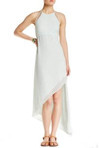 BCBGeneration Keyhole Asymmetrical Shift Straight Dress