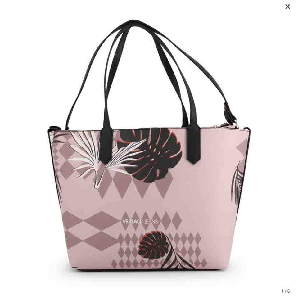 Versace Jeans Collection Shopping Pink Faux Leather Tote - Tradesy deff89d645812