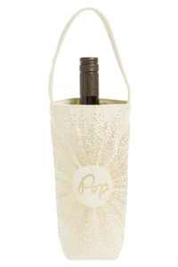 Nordstrom Great_gift Glittery Fabric Wine Tote Other