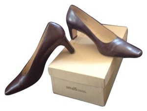 Amalfi Chocolate Brown Pumps