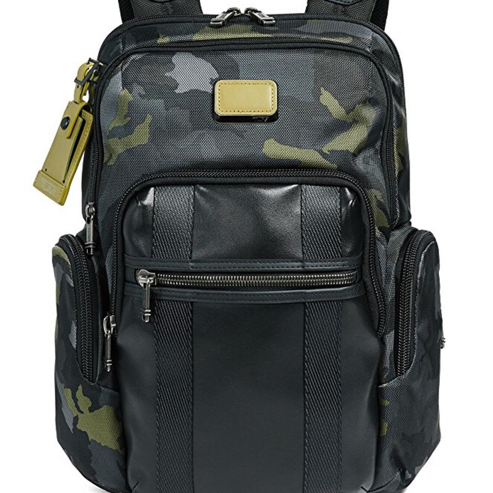 cc98f8647 Tumi Alpha Bravo Nellis Military / Green Camo Fabric Backpack - Tradesy