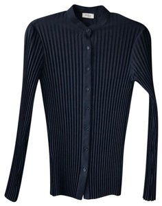 Akris Punto Button Down Shirt navy