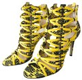 Jason Wu Cage Sandal High Heel Sexy Yellow Citron Formal