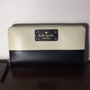 Kate Spade Leather Cameron Street Lacey Color Block Saffiano Wallet