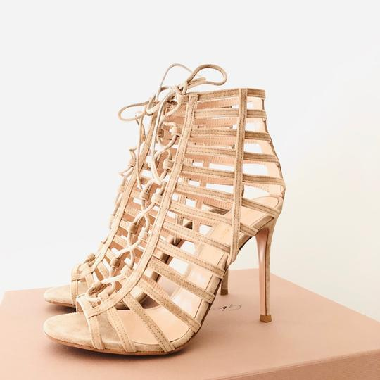 Gianvito Rossi Caged Sandal Lace-up Sandal Classic Nude Formal Image 1