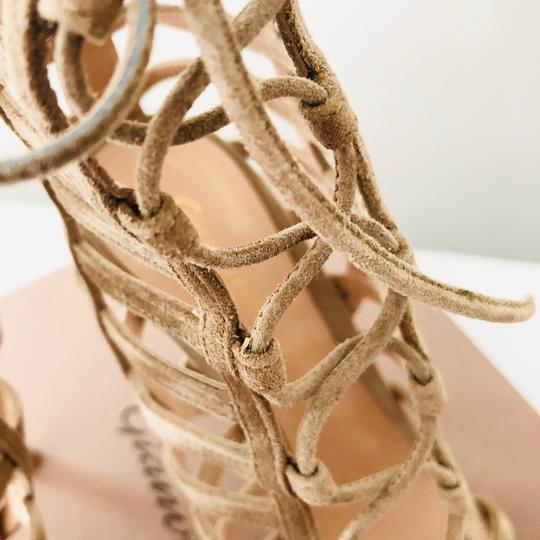 Gianvito Rossi Caged Sandal Lace-up Sandal Classic Nude Formal Image 4