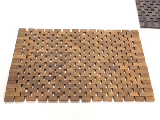 Pomax Set of 2 Wood Tile Placemats Image 3