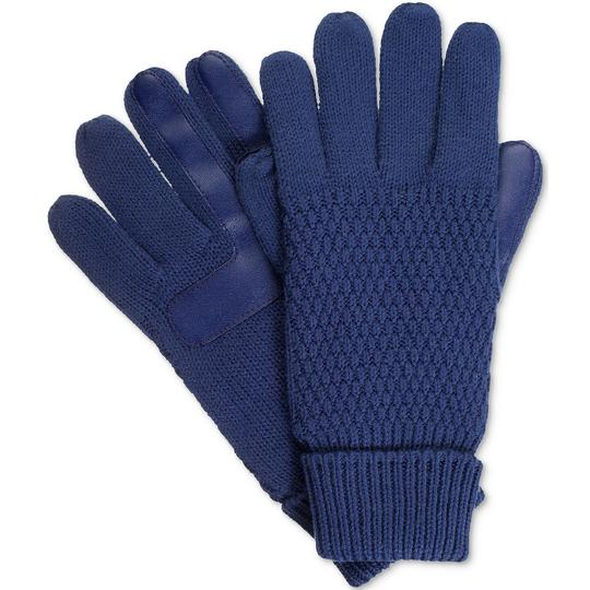 Isotoner Textured smarTouch smartDRI Lined Gloves Image 1