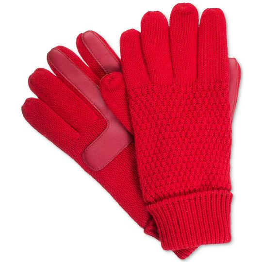 Isotoner Textured smarTouch smartDRI Lined Gloves Image 2