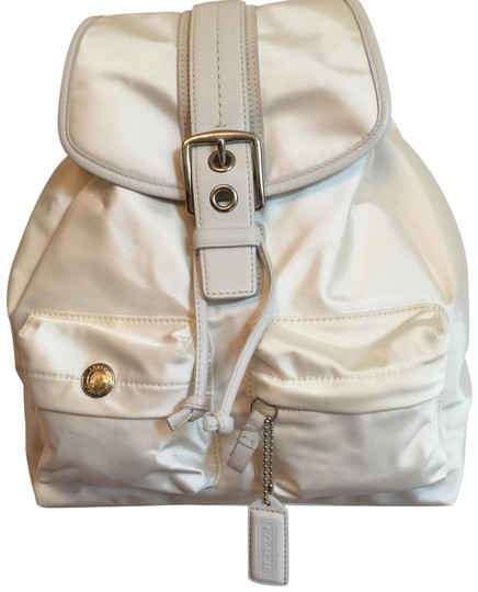 Preload https://img-static.tradesy.com/item/24295677/coach-off-white-satin-backpack-0-3-540-540.jpg