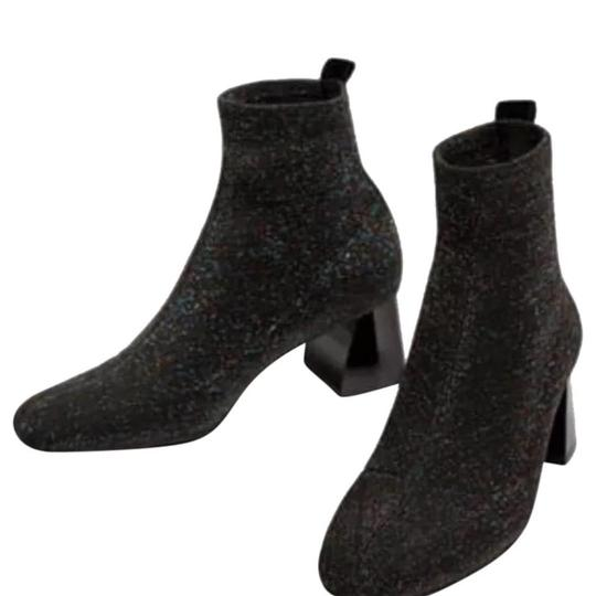Preload https://img-static.tradesy.com/item/24295699/zara-multicolor-sock-style-high-heel-ankle-with-shimmer-bootsbooties-size-us-8-regular-m-b-0-0-540-540.jpg