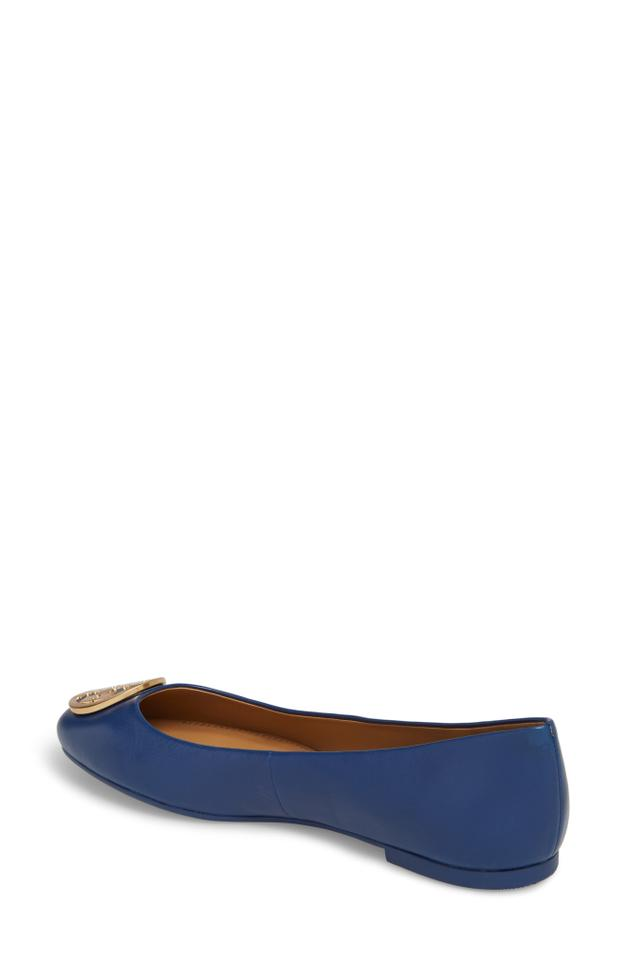 f3410aaf351 Tory Burch Fresh Blueberry Benton Ballet Flats Size US 10.5 Regular ...