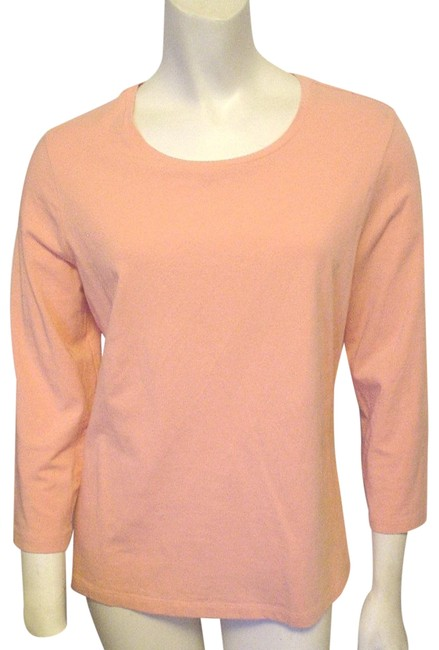 Preload https://img-static.tradesy.com/item/24295846/chico-s-melon-the-ultimate-pink-34-sleeve-casual-m-mix-match-tee-shirt-size-8-m-0-3-650-650.jpg