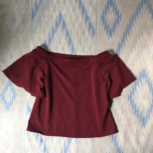 Do+Be Top Burgundy Image 1