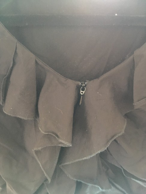Anne Fontaine Cardigan Zippered Top Black Image 10