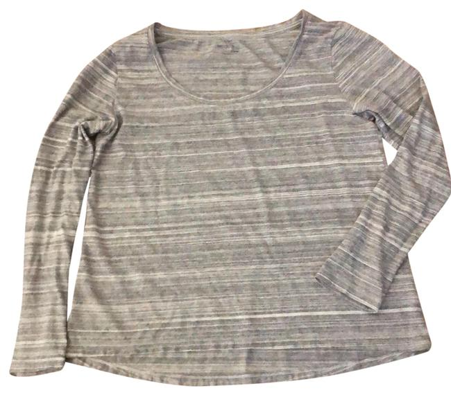 Preload https://img-static.tradesy.com/item/24296100/gap-gray-and-white-gapbody-long-sleeve-tee-shirt-size-12-l-0-3-650-650.jpg