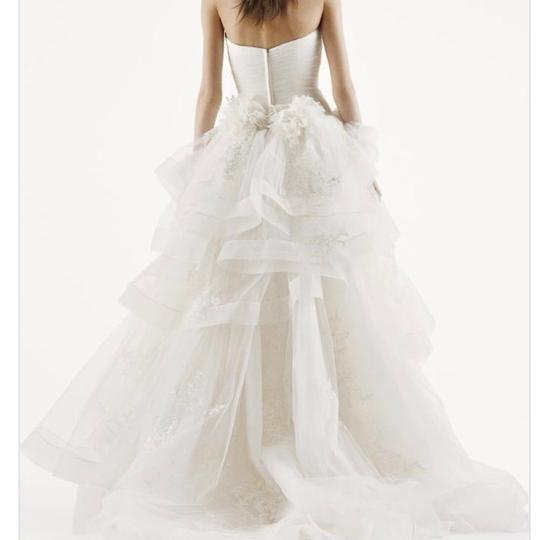Vera Wang Bridal Ivory Tulle Ball Gown Princess For The Day Traditional Wedding Dress Size 16 (XL, Plus 0x) Image 2
