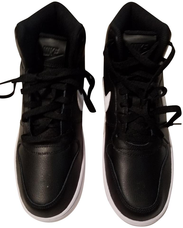 Nike Black And White High Tops Sneakers Size Us 9 Regular M B