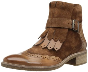Paul Green Ankle Leather Suede Brown Boots