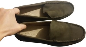 Polo Ralph Lauren Mens Suede Loafers brown Flats
