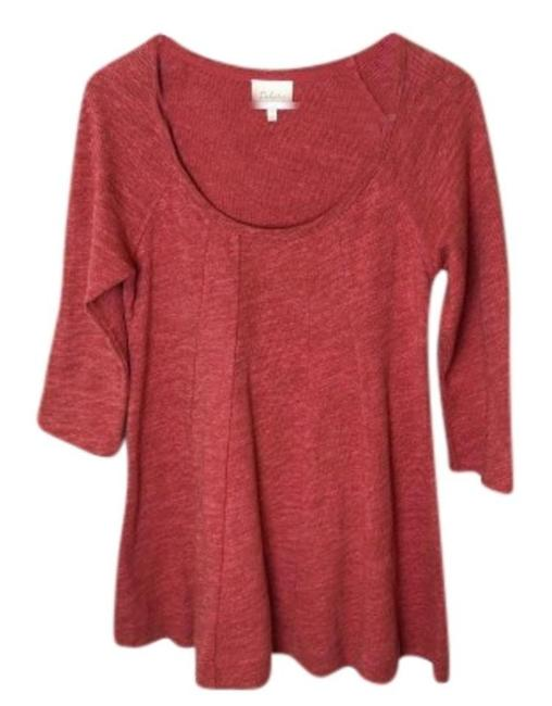 Preload https://img-static.tradesy.com/item/24296305/anthropologie-orange-pathed-seams-tee-shirt-size-0-xs-0-5-650-650.jpg