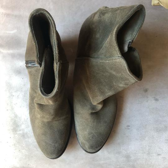 Barneys New York Olive green Boots Image 1