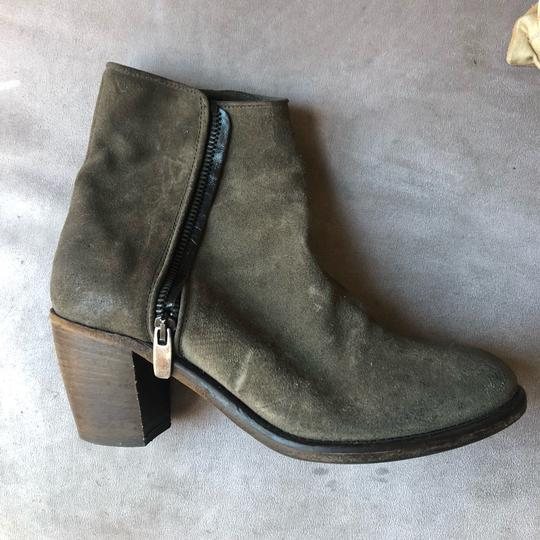 Barneys New York Olive green Boots Image 2