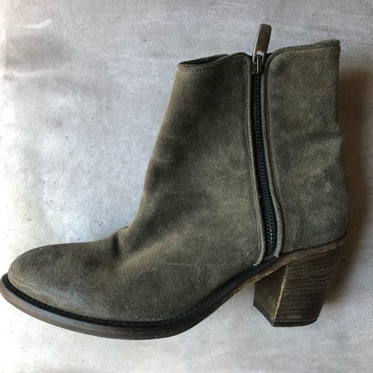 Barneys New York Olive green Boots Image 3