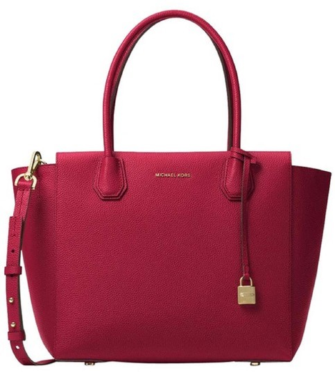 Michael Kors Satchel in Cherry Image 0