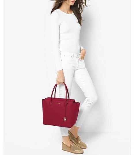 Michael Kors Satchel in Cherry Image 1
