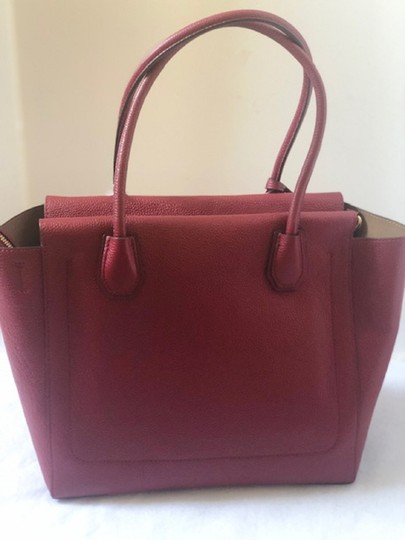 Michael Kors Satchel in Cherry Image 4