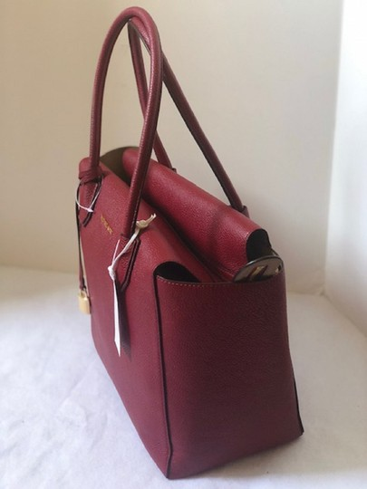 Michael Kors Satchel in Cherry Image 5