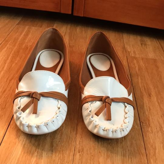 Kate Spade white with tan detail Flats Image 1