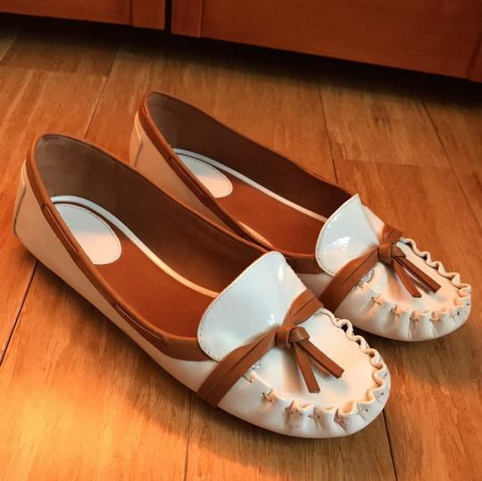 Kate Spade white with tan detail Flats Image 11