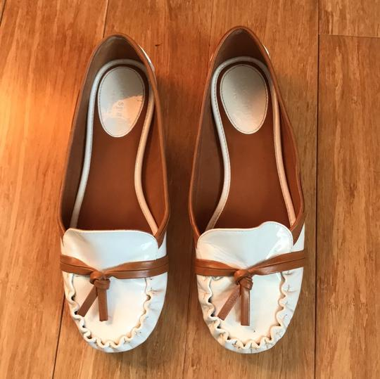 Kate Spade white with tan detail Flats Image 2