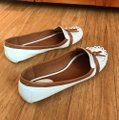 Kate Spade white with tan detail Flats Image 7