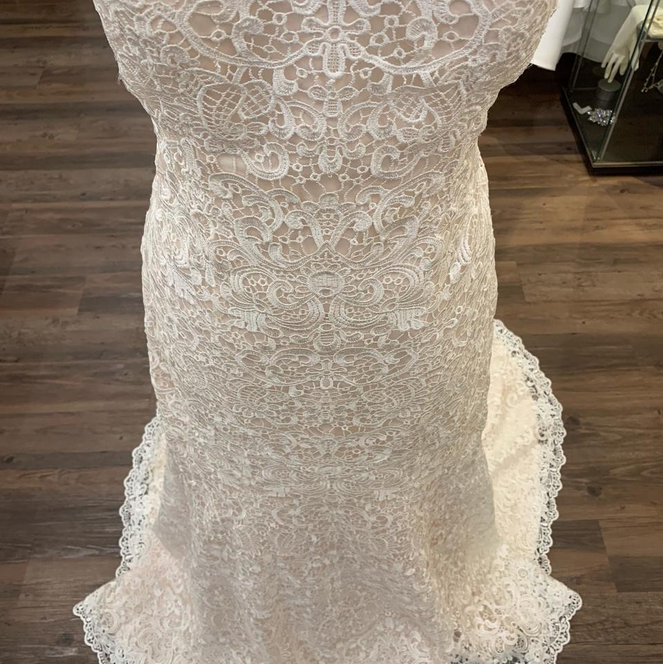 """Maggie Sottero Lace Wedding Gown: Maggie Sottero Ivory Over Blush Lace """"lottie"""" Feminine"""