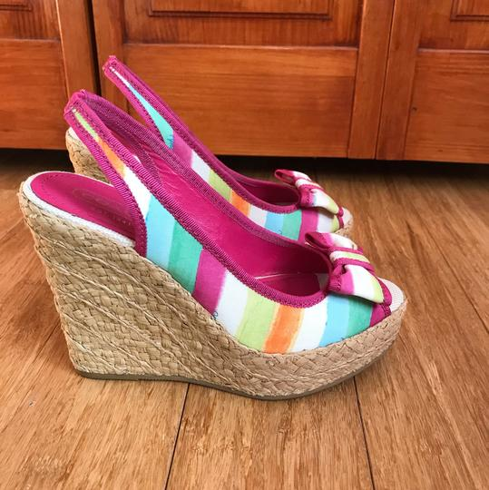 Coach watercolor Wedges Image 8