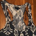 American Eagle Outfitters Top Charcoal Gray and Ivory Image 2