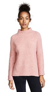 Madewell Mock Neck Wool Blend Sweater