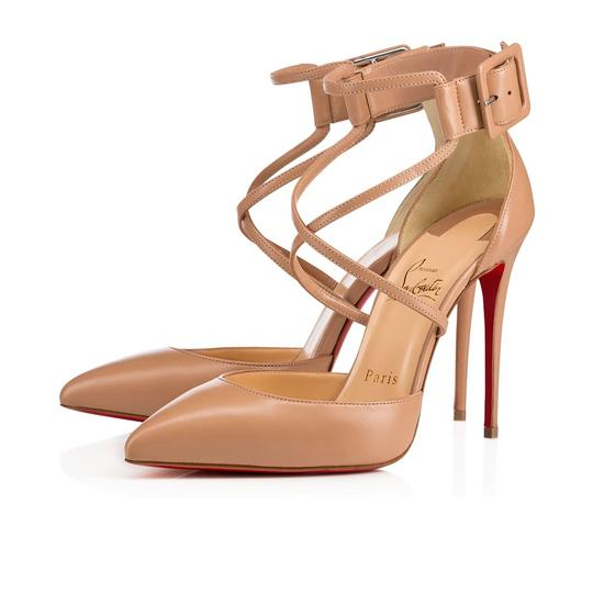 Preload https://img-static.tradesy.com/item/24296522/christian-louboutin-nude-classic-suzanna-100mm-nappa-shiny-leather-criss-cross-ankle-buckle-pumps-si-0-0-540-540.jpg