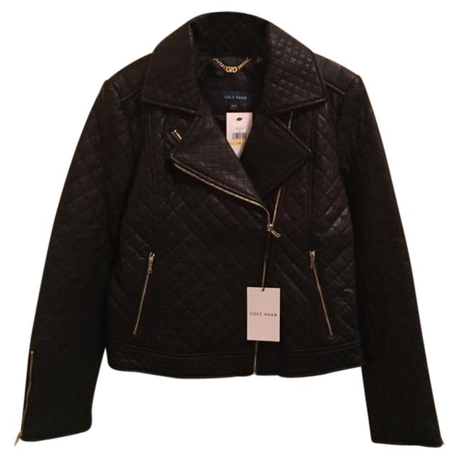 Preload https://img-static.tradesy.com/item/24296556/cole-haan-black-diamond-quilted-leather-moro-jacket-size-8-m-0-1-650-650.jpg