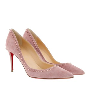 Christian Louboutin Spikes Anjalina 85mm Classic Spike Pink Pumps